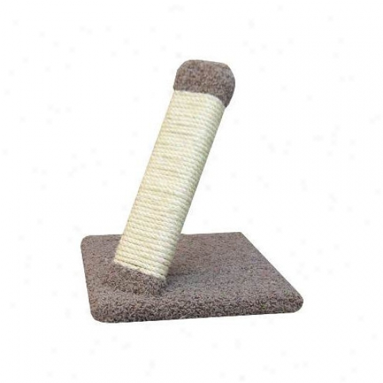 New Cat Condos Angled Sisal Rope Scratching Post