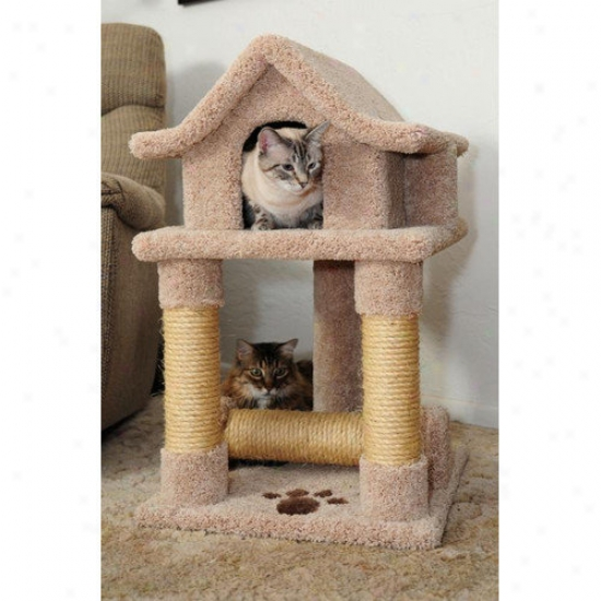 New Cat Condos Pagoda Kitty Scratcher