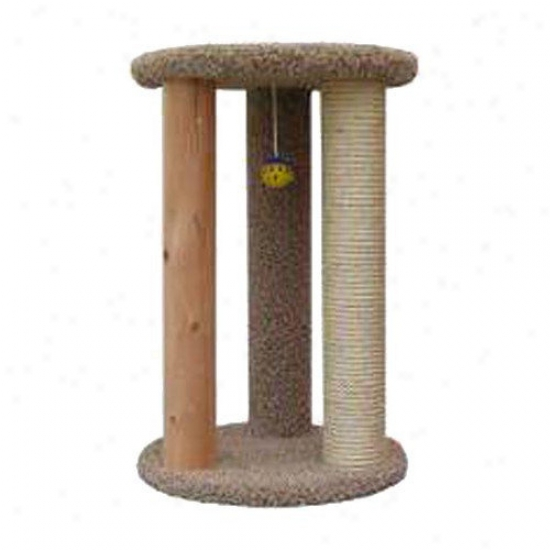 New Cat Condos Round Multi Ca tScratcher