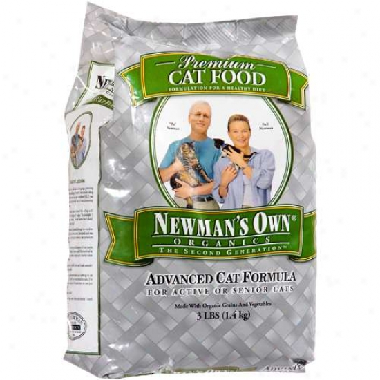 Newmans Own Orgwnics 61342 Organic Advanced Cat F0od