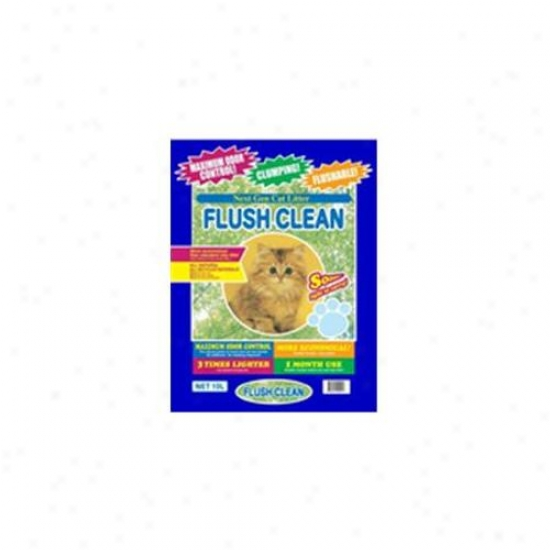 Next Gen Fc10 Flush Clean Cat Litter - 10l Bag
