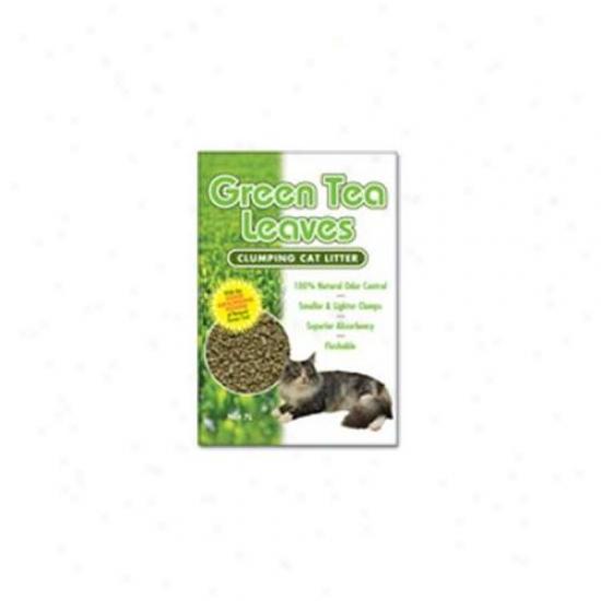 Next Gen Gtl10 Green Tea Leaves Cat Litter - 10l Bag
