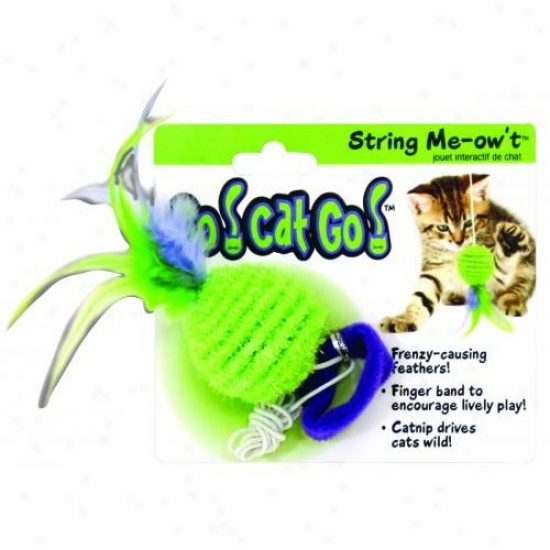 Ourpets Ct-10294 Go Cat Go String Me-ow T