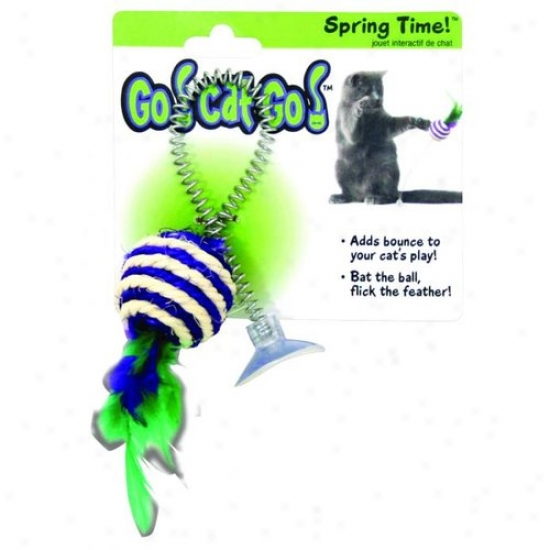 Ourpets Ct-10295 Go Cat Go Spring Time