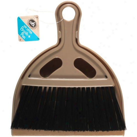 Pet Champon Cat Litter Brush And aPn