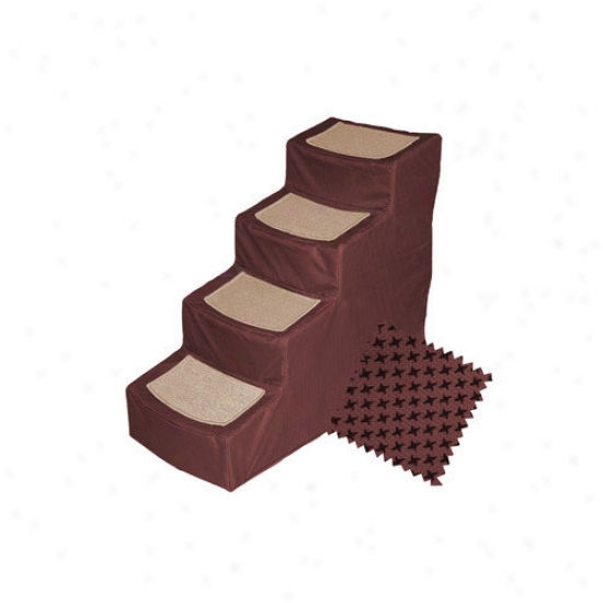 Pet Gear Designer Stair Iv With Removable Cover