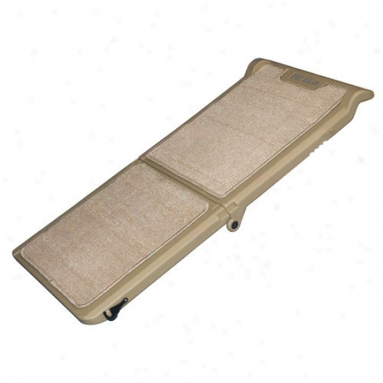 Pet Gear Indoor Bi-fold Half Ramp In Tan