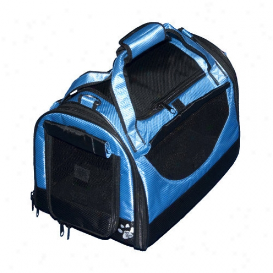 Pet Gear World Traveler Tote Bag Pet Carrier In Caribbean Blue