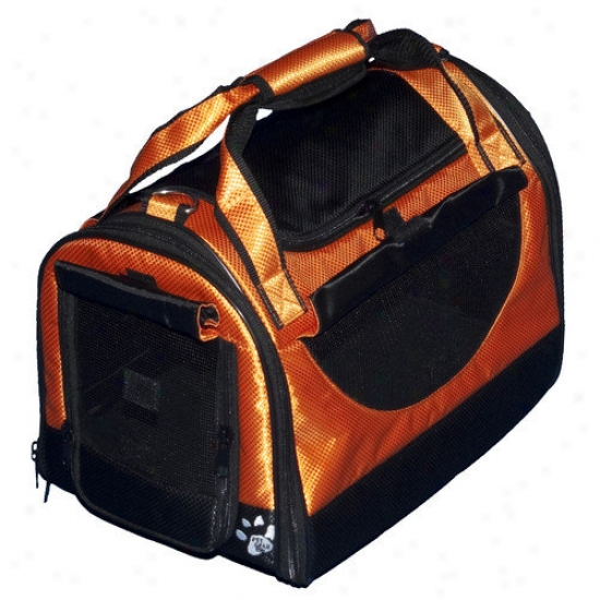 Pet Gear World Traveler Tote Bag Pet CarrierI n Tangerine