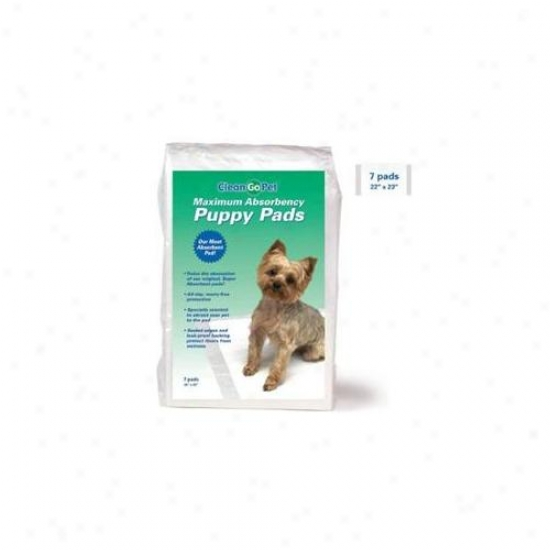 Pet Pals Tp620 07 Maximum Absorbency Puppy Pads 7-pkg
