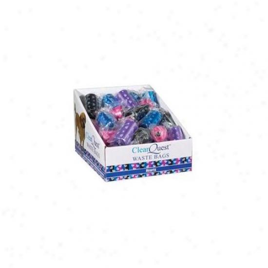 Pt Pals Us034 13 Clearquest Waste Bag Expand Stripes