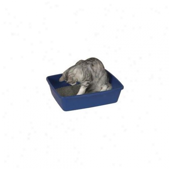 Pet Pals Zw1001 11 19 Entire Be considered Pet Litter Pans 6 Pack Blue Q