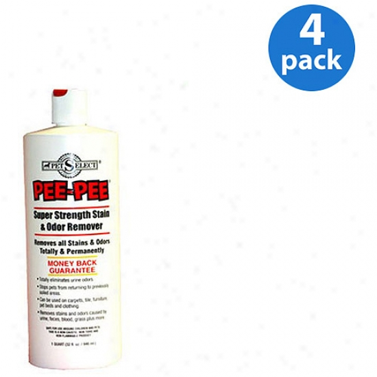 Angry mood Select Pee-pee Stain And Odor Remover Bundle, 4pk