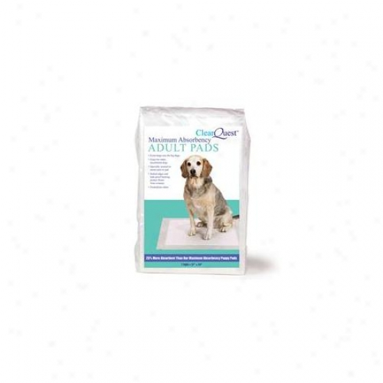 Pet3dgeU s199 14 Clearquest Max Absorbency Adult Pads 14 By Bag