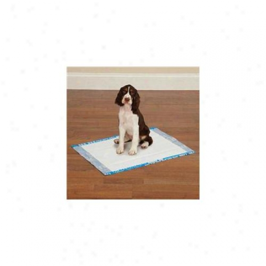 Petedge Zw3405 14 19 Clean Go Fondle Graffiti Puppy Pads 14/pkg Blue