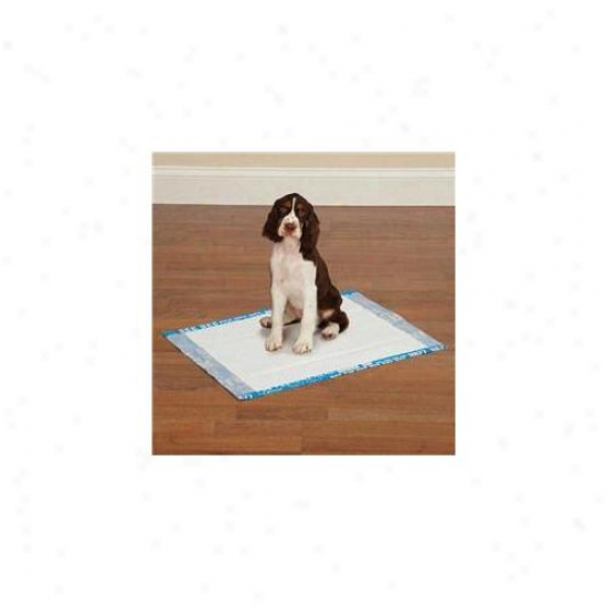 Petegd Zw3405 30 19 Entirely Go Pet Graffiti Puppy Pads 30/pkg Blue
