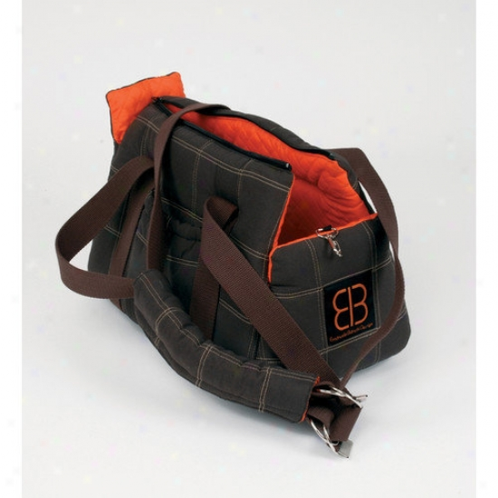 Petwgo Bitty Bag Pet Carrier In Brown