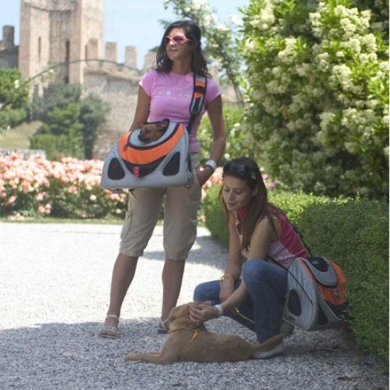 Petego Contour Messenger Pet Carrier