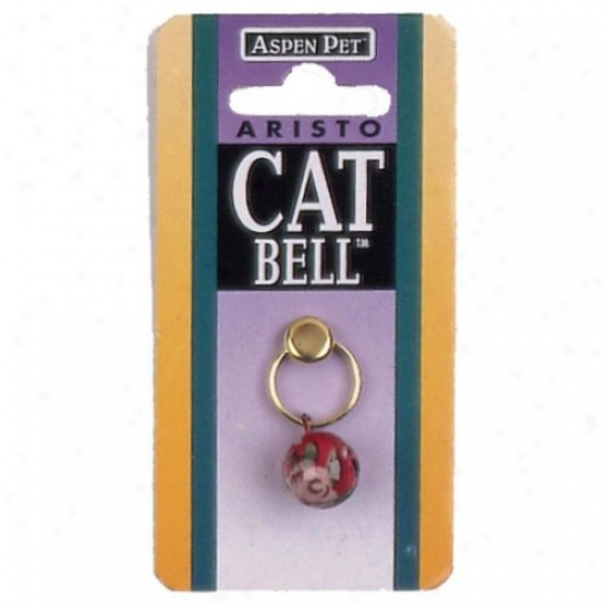 Petmate Aspen Pet 05730 12mm Printed Aristo-cat Bell