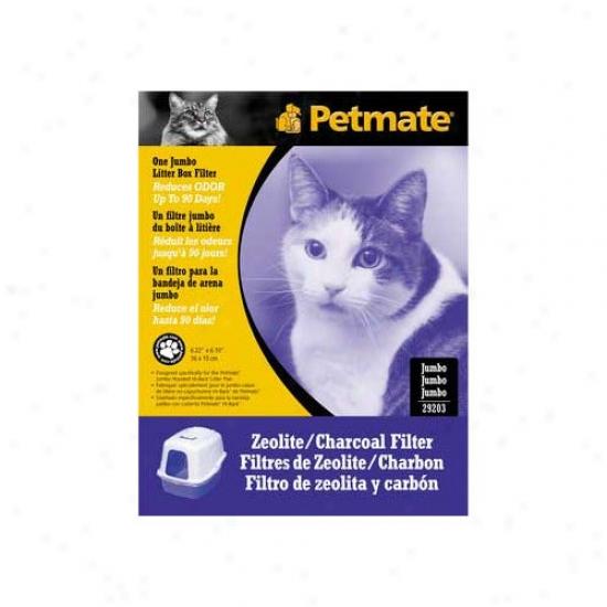 Petmate Baqic Litter Pan Zeolite Filter
