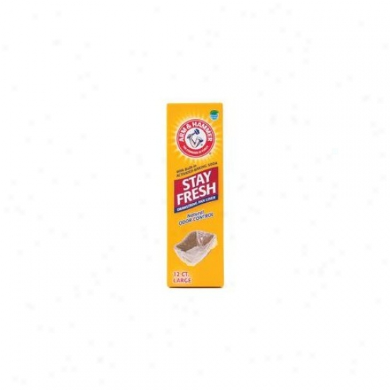 Petmate Large Arm And Hammer Drawstring Liner