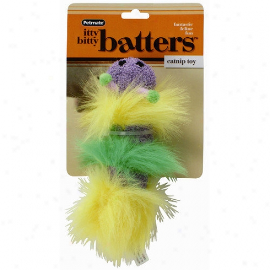 Petmate Mini Size Igty Bitty Batters Catnip Cat Toy