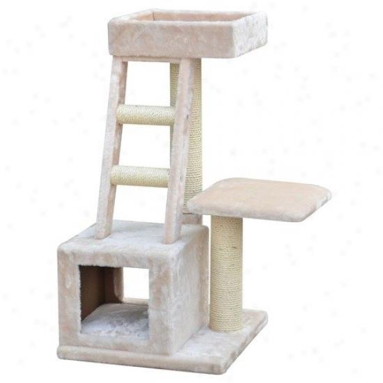 Petpals 20'' Playhouse Cat Tree