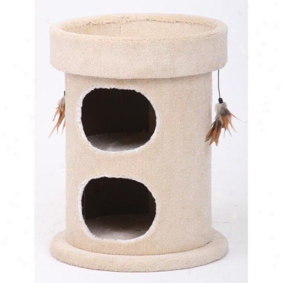 Petpals 25&039;' Double Pleasantry Cat Condo