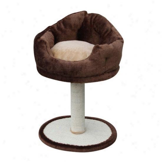 Petpals 30'' Soft Fleece Cat Perch