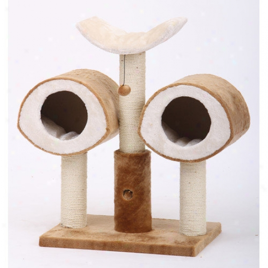 Petpals 36'' Owl Shaped Cat Condo