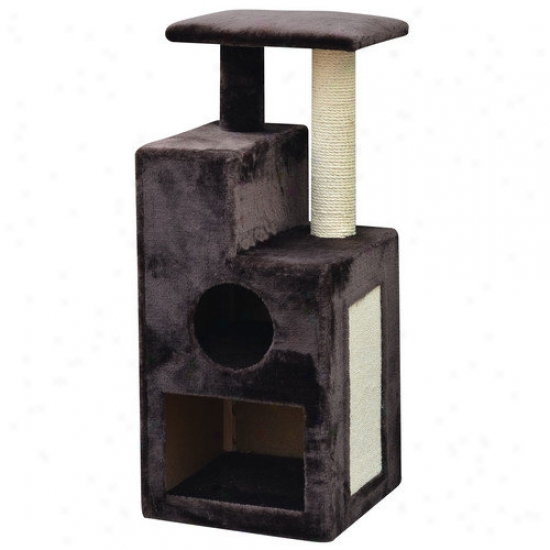 Perpals 38'' Abstract Design Cat Tree