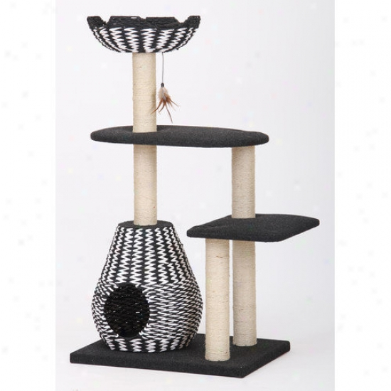 Petpals 49'' Contemporary Cat Tree