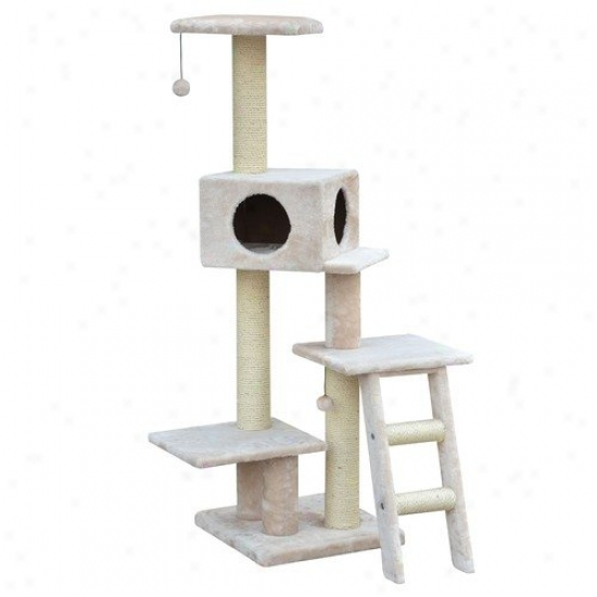 Petpals 58'' Playhouse Cat Tree