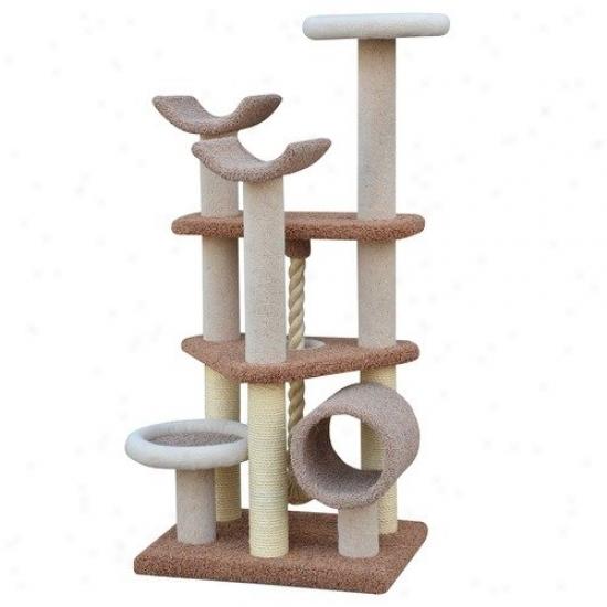 Petpals 69'' Elegant Multi Level Cat Tree