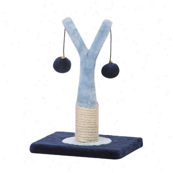 Petpals Interactive Sisal Scratching Post