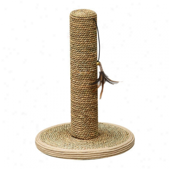 Petpals Seagrass Scratching Pos