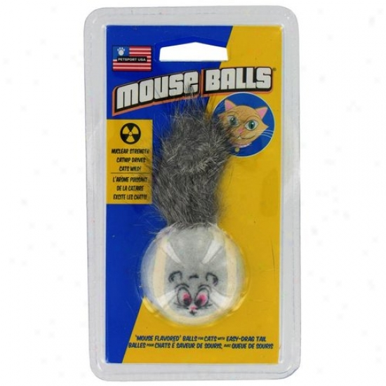 Petsport Usa 70023 Mouse Ball Cat Toy