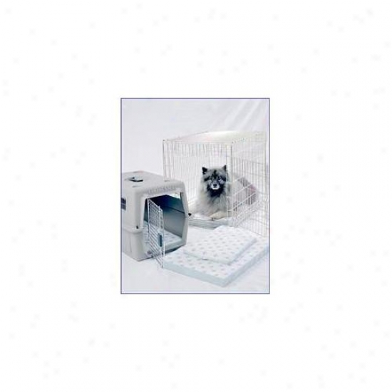 Poochpad Pp3624 21. 5 X 33. 5 Inch Ultra-dry Transport System-crate Pad - Fits Most 36 Inch Wire Crates
