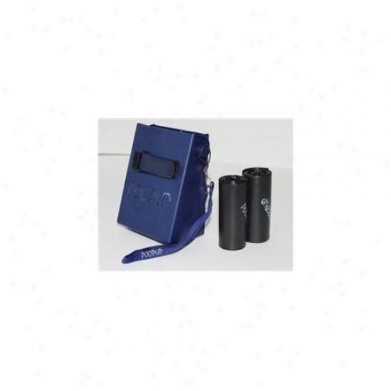 Poopup Pp-hb-0214 Poopup - Navy Blue Colored Poop Scooper- 2 Pck