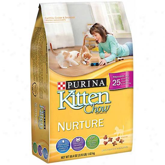 Purina Kitten Chow Nurture Cat Food, 50.4 Oz