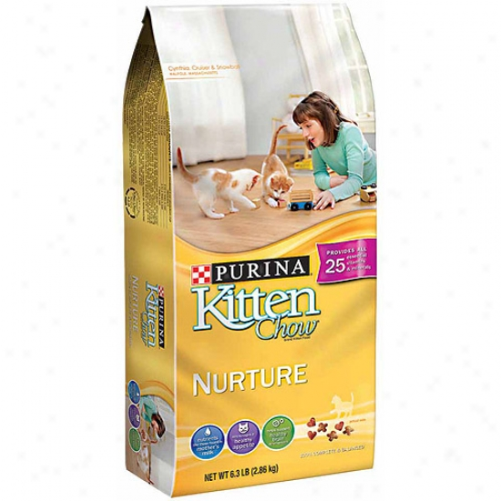 Purinz Kitten Chow Nurture Cat Food, 6.3 Lbs