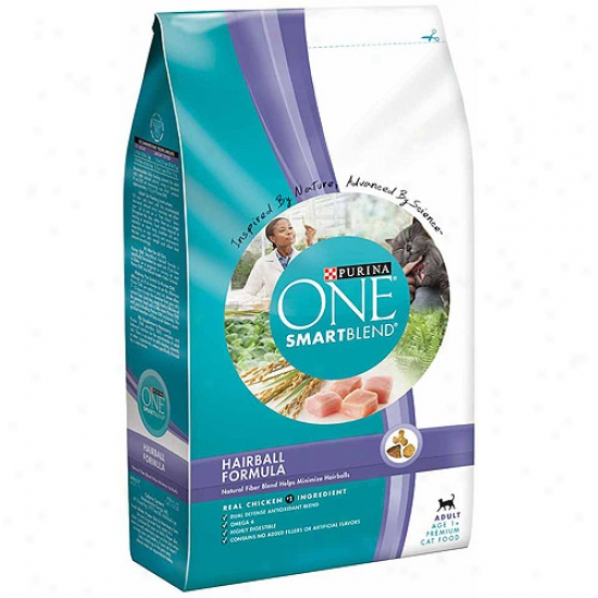 Purina One Smartblend Cat Food, Hairball Formula, 3.5 Lb