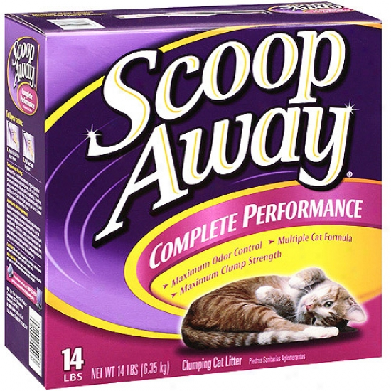 Socop Away Multi-cat, Scented, 14 Pounds
