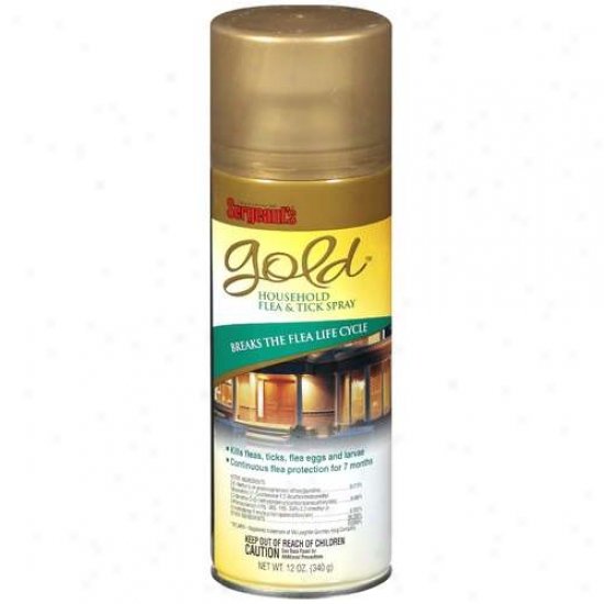 Sergeant's Gold Household Flea And Tick Spray