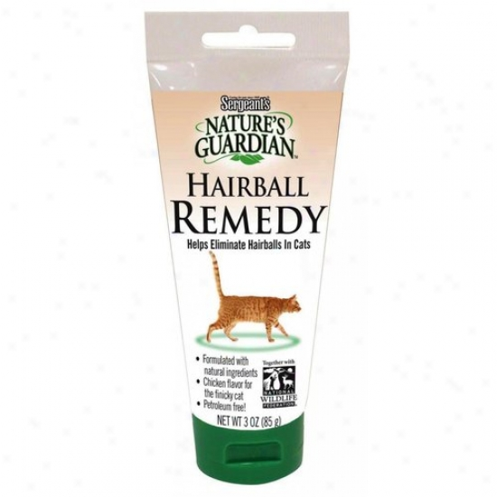 Sergeants 03720 Natures Guaedians Hairball Remedy