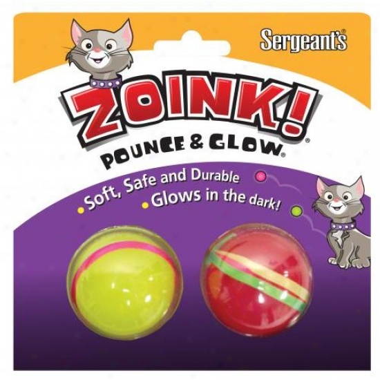 Sergeants Pet Care Products 07664 Kitty Glow Balls