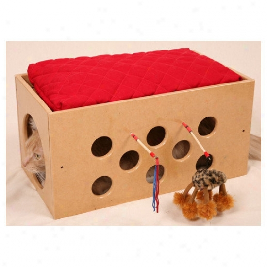 Smartcat Bootsie's Bunk Receptacle And Playroom Cat Condo