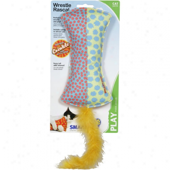 Smartpaw Wrestle Rascal Cat Play Toy