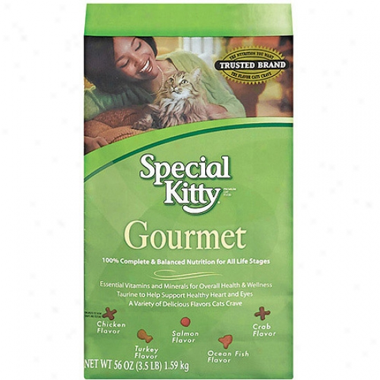 Special Kitty Gourmet Cat Food, 56 Oz