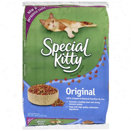 Special Kitty Premium Original Cat Food, 16 Lb